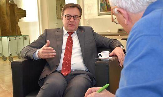 LH Günther Platter im Interview mit Robert Benedikt