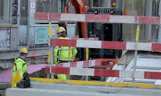 Baustellen dürfen wieder hochgefahren werden, aber nur unter bestimmten Bedingungen