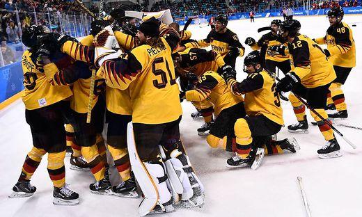 Das Deutsche Eishockey-Nationalteam