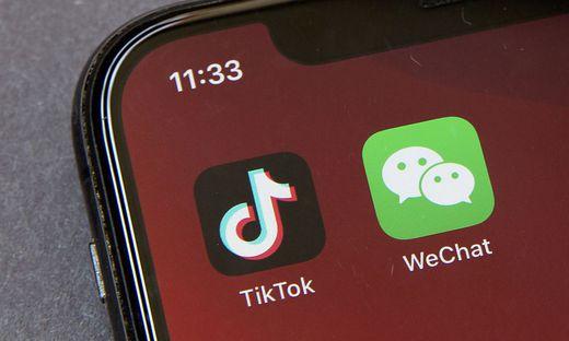 Populär und chinesisch: Die Apps TikTok und WeChat