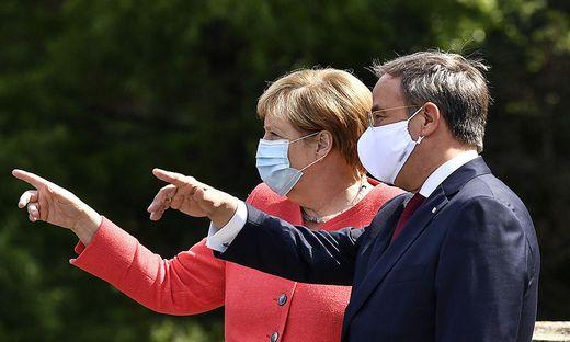 Wo soll es für die CDU hingehen? Merkel und Laschet