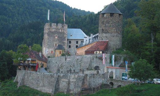Die Burg bei Deutschlandsberg