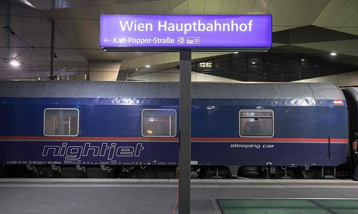 AUSTRIA-TRANSPORTATION-TRAIN-NIGHTJET