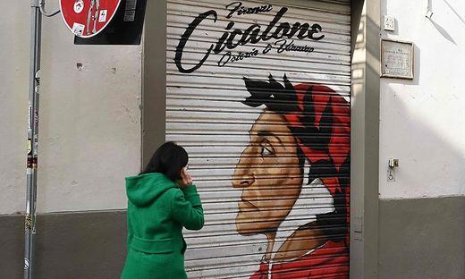 Dante ist in Italien stets präsent
