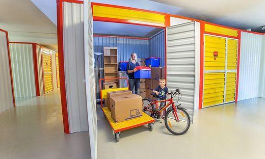 Die Boxen sind bis zu 25 Quadratmeter groß.