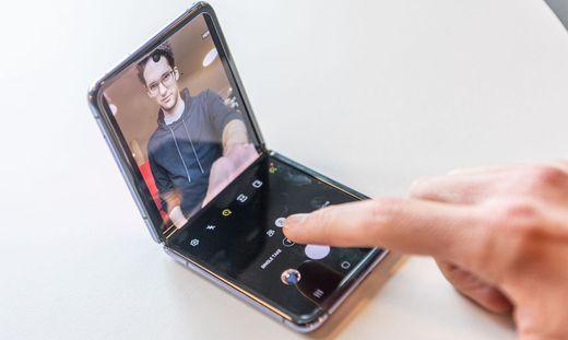 Das klappbare Samsung Galaxy Z Flip