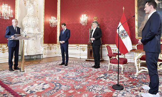 Heute wurde Wolfgang Mückstein als neuer Gesundheitsminister angelobt - in Turnschuhen.