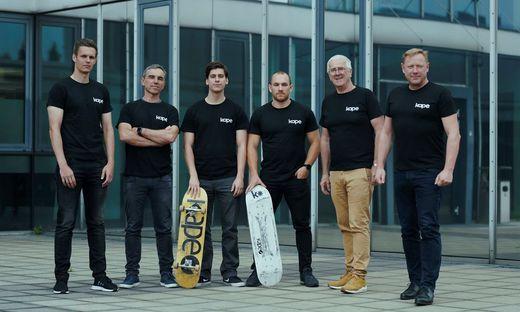 Bernhard Ungerböck, Gerfried Schuller, Peter Karacsonyi, Daniel Jahn, Heinz Moitzi, Herbert Gartner