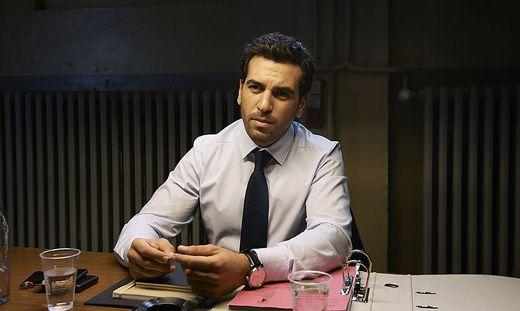 Auf der Suche nach einem Motiv: Anwalt Caspar Leinen (Elyas M'Barek)