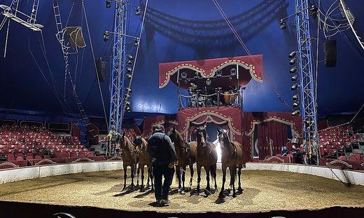 Nach drei Vorführungen ging für den Circus Knie in Seiersberg der Vorhang zu