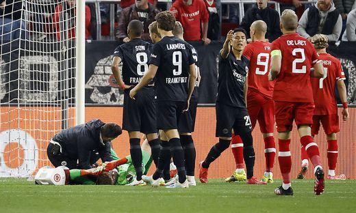 Sport Bilder des Tages 30.09.2021, Fussball, Europa League, 2021 - 2022, Royal Antwerpen - Eintracht Frankfurt, BEL, Ant