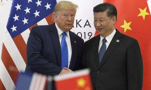 US-Präsident Donald Trump, Chinas Xi Jinping