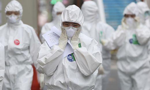 üdkorea meldete erneuten Ausbruch bei 91 Geheilten