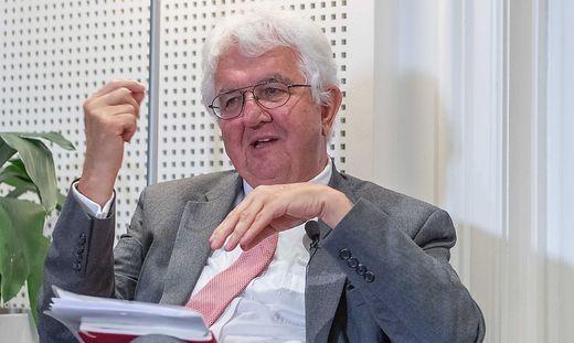OeNB-Gouverneur Robert Holzmann
