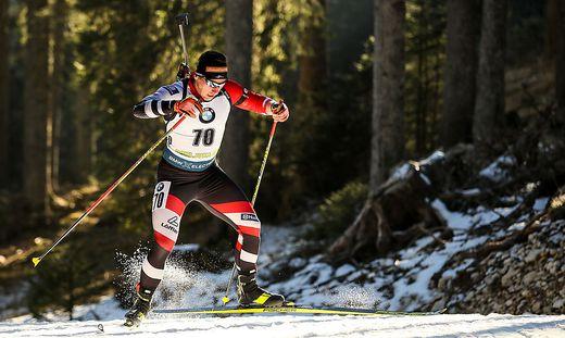David Komatz ist einer von drei Steirern bei der Biathlon-WM