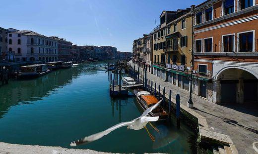 Die Lagune von Venedig in Zeiten von Corona