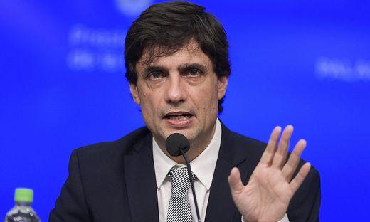Der neue argentinische Finanzminister Hernán Lacunza