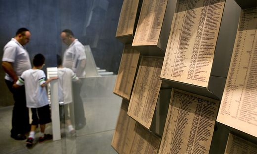 Die Gedenkstätte Yad Vashem