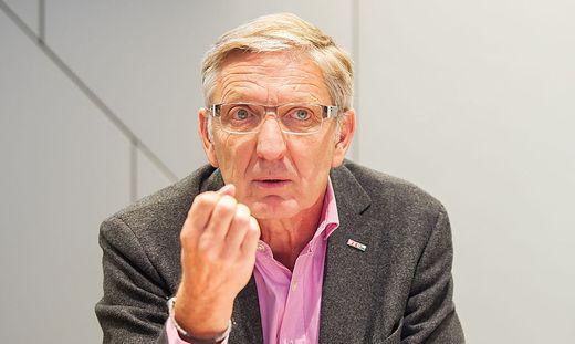 Der steirische Wirtschaftskammerpräsident Josef Herk