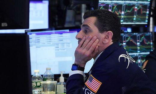 USA - Kurssturz an der Wall Street - Handel unterbrochen