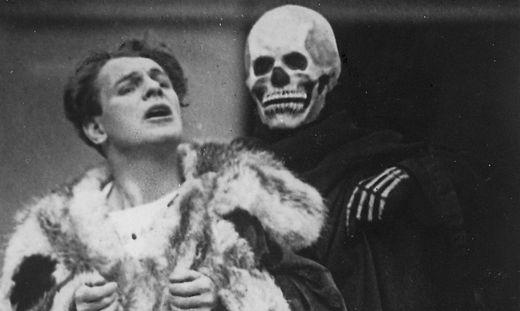 Jedermann Alexander Moissi und Tod Luis Rainer, 1929