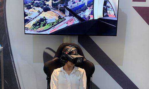 VR-Flug im FACC-Drohnen-Taxi