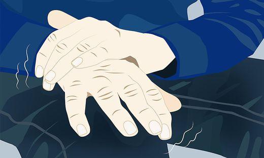 Zittern ist nur eines von vielen Symptomen bei Parkinson.
