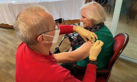 Die ältesten Kärntner werden jetzt zuerst geimpft