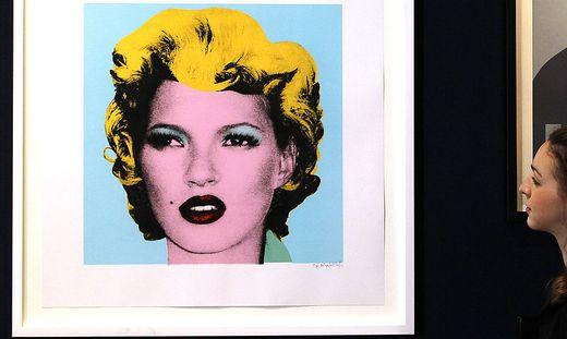 Ein echter Banksy-Siebdruck ist am Kunstmarkt heiß begehrt