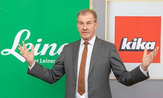 Der neue Kika-Leiner-Chef Reinhold Gütebier
