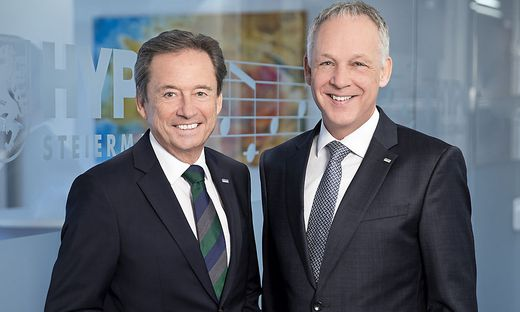 Vorstandsdirektor Bernhard Türk, Generaldirektor Martin Gölles
