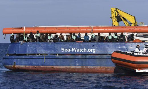 Rettungsschiff Sea-Watch schaltet Menschenrechtsgerichtshof ein