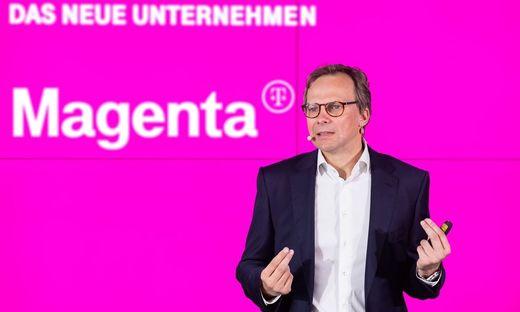 Neue Marke, bekannter Chef: Andreas Bierwirth steht an der Spitze von Magenta