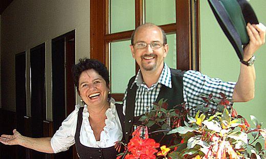 Ilse Pötscher und Rudolf Pöschl