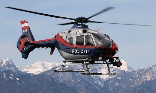 Der Polizeihubschrauber Flir war im Einsatz