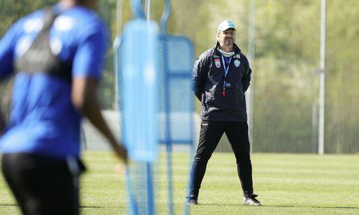 SOCCER - BL, Training TSV Hartberg