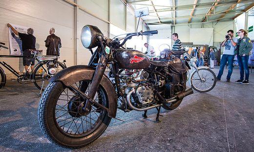 Die Puch 800 ist mit ihren 800 cm³ das hubraumstärkste Motorrad der Steyr Daimler Puch AG