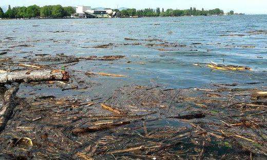 Der Pegel des Bodensees steigt