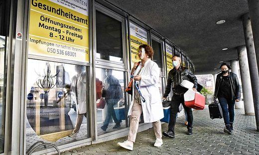 Team des Gesundheitsamtes zieht in die alten AMS Räumlichkeiten in der Bahnhofstraße