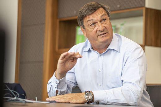 WKK-Präsident Jürgen Mandl