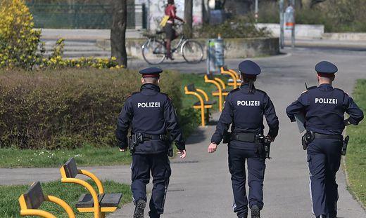 Die Polizei wird auch Parkanlagen verstärkt kontrollieren