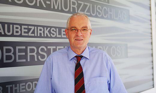 Bernhard Preiner, früher Bezirkshauptmann von Bruck, ist seit Anfang September Bezirkshauptmann von Bruck-Mürzzuschlag