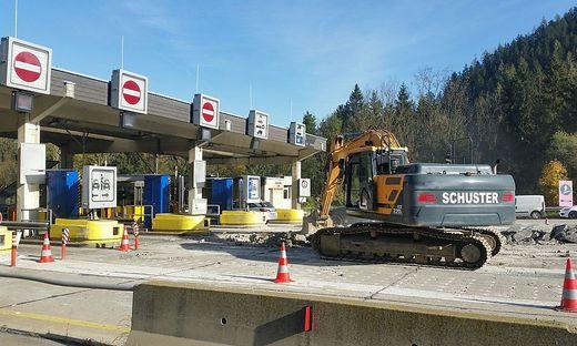 Erste Sanierungsarbeiten starten nun auch an der Maustelle Gleinalm.