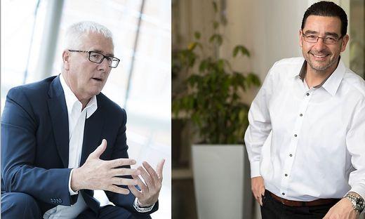 Heinz Moitzi und Peter Szabó