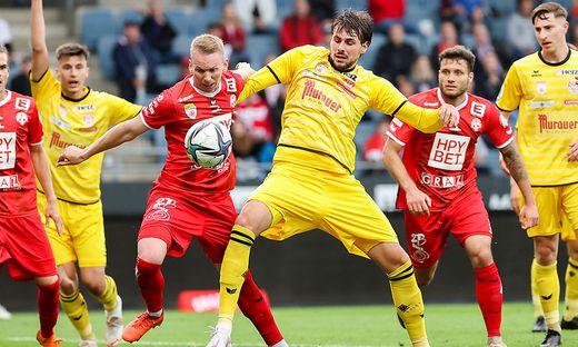 SOCCER - 2. Liga, GAK vs KSV