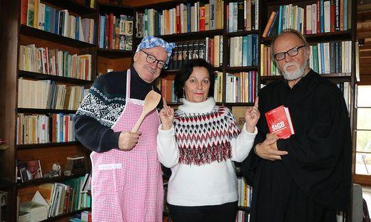 Peter Kowal, Hannelore Fradler und Ernst Müller