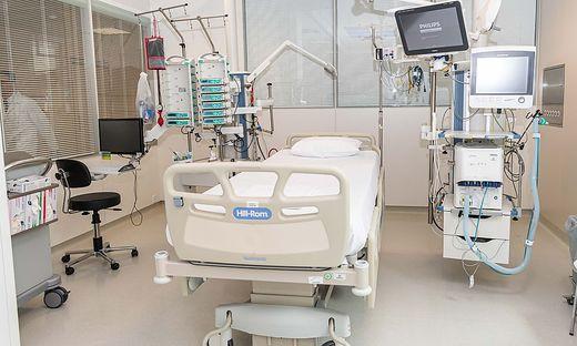 Derzeit muss kein Corona-Patient in der Steiermark auf einer Intensivstation betreut werden