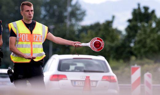 Grenzkontrolle Deutschland - �sterreich