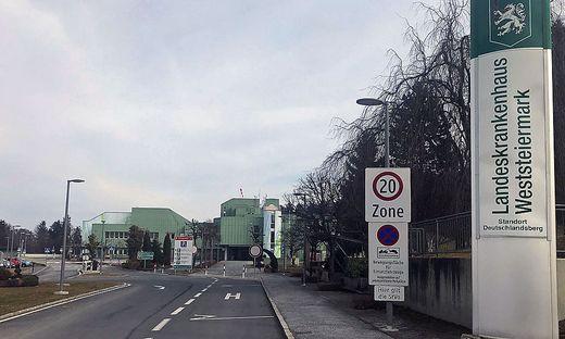 Zum LKH Weststeiermark zählen die beiden Standorte Deutschlandsberg und Voitsberg