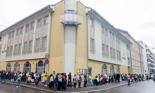 Der Tatort: Die Al-Nur-Moschee in Bärum